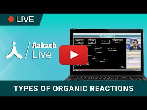 Types of Organic Reactions