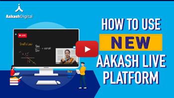 How To Use New Aakash Live Platform