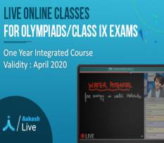 One Year Integrated Course for Olympiads & Class IX