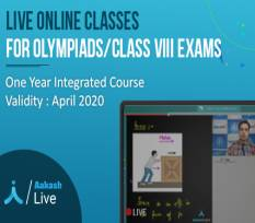 One Year Integrated Course for Olympiads & Class VIII