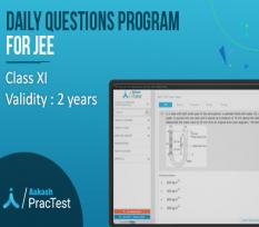 Daily Questions Program for Class XI (JEE)