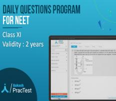 Daily Questions Program for Class XI (NEET)