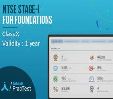 NTSE Stage-I for Class X (Foundation)