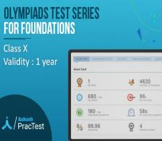 Olympiads Test Series for Class X (Foundation)