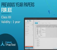 Previous Year Papers for Class XII (JEE)