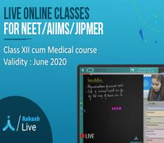 XII Cum Medical Course for NEET, AIIMS & JIPMER