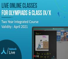 2 Yr Live Online  Classes for Class 9 & 10  - CBSE ,Olympiads & NTSE