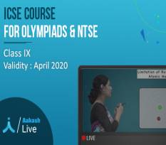 1 Yr Live Online Classes for Class 9  - ICSE, Olympiads & NTSE