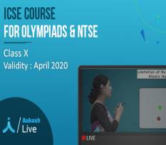 1 Yr  Live Online Classes for Class 10  - ICSE, Olympiads & NTSE