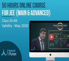 One year Validity Upto 50 Hours Maximum Usage Aakash iTutor for Class 11 and 12 (JEE - Main and Advance )