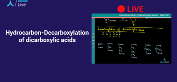 Decarboxylation of Dicarboxylic Acids